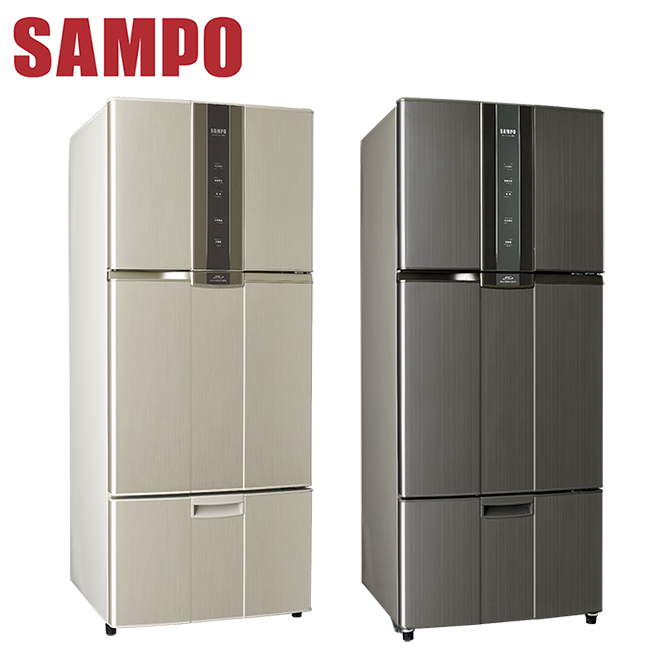 SAMPO聲寶 580公升變頻三門冰箱(SR-N58DV(Y2/K2))送安裝