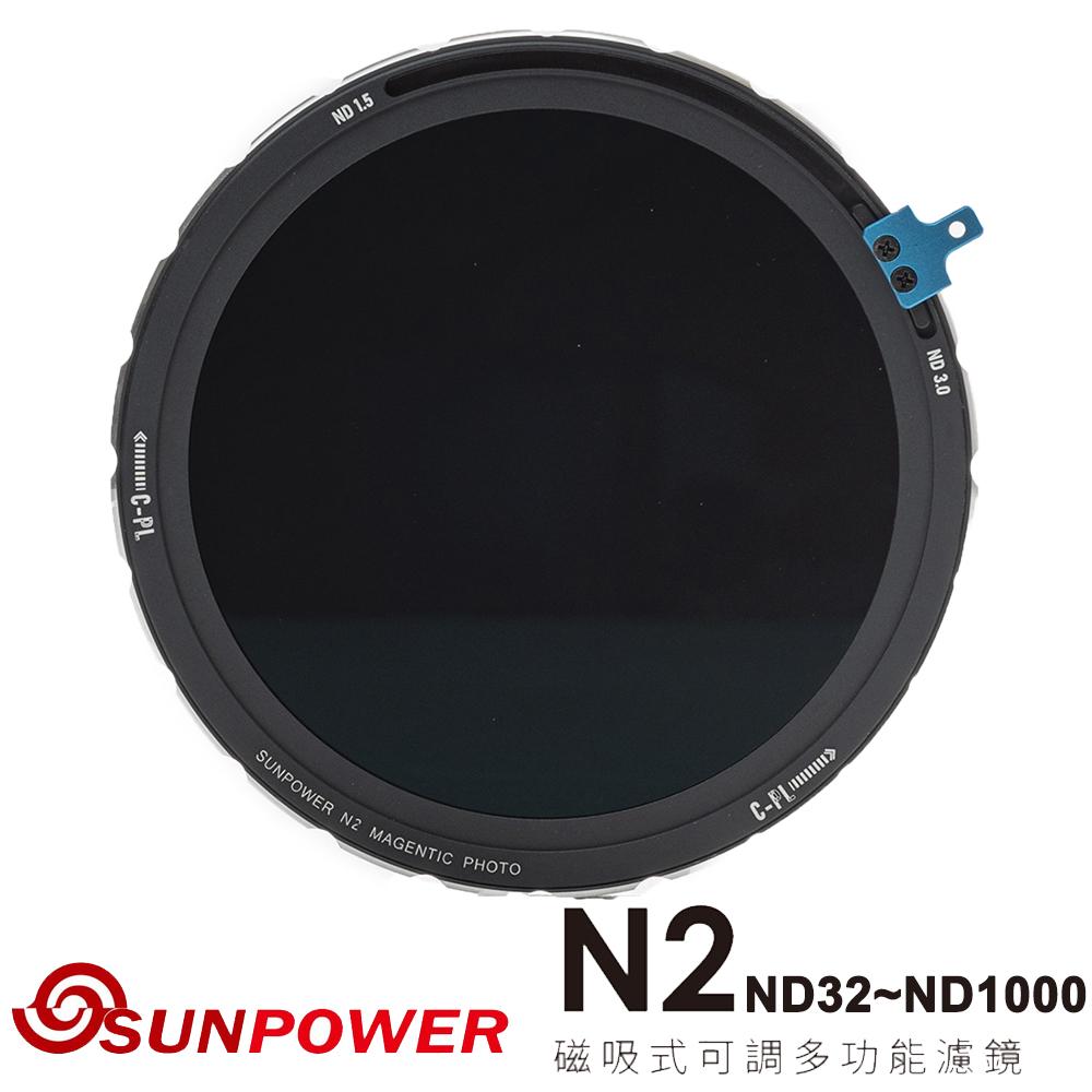 SUNPOWER N2 ND32~ND1000 磁吸式可調多功能濾鏡
