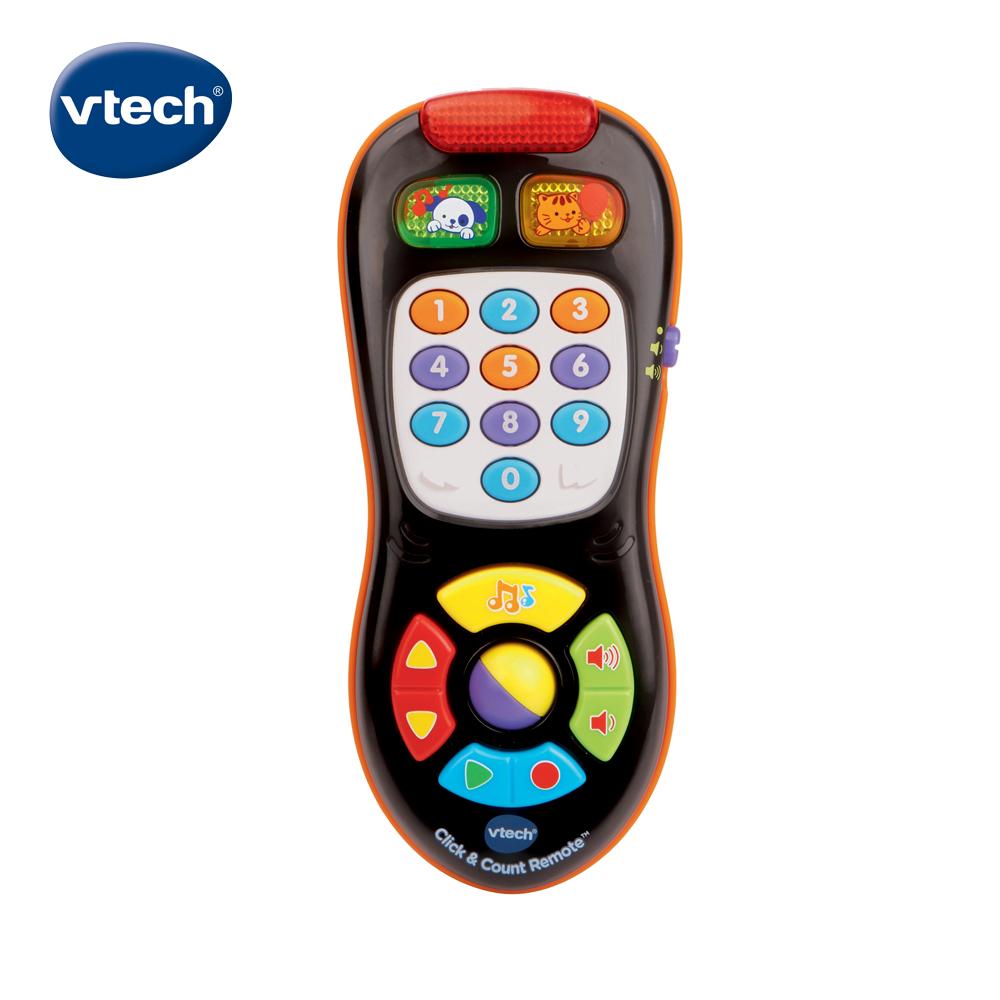 【Vtech】寶貝搖控器-酷黑