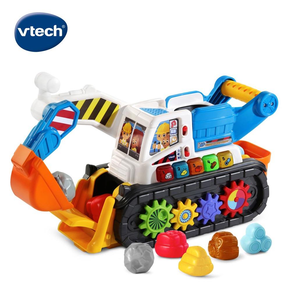 【Vtech】聲光互動學習挖土機