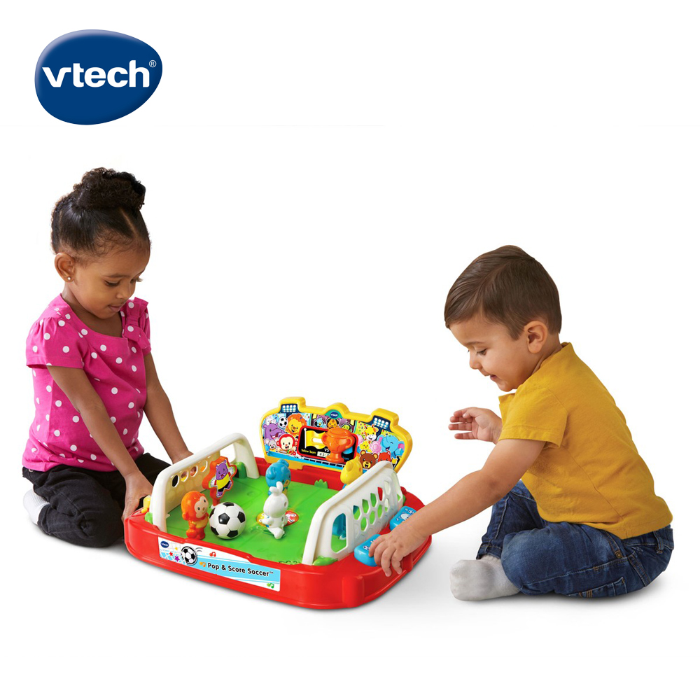【Vtech】互動感應桌上足球場