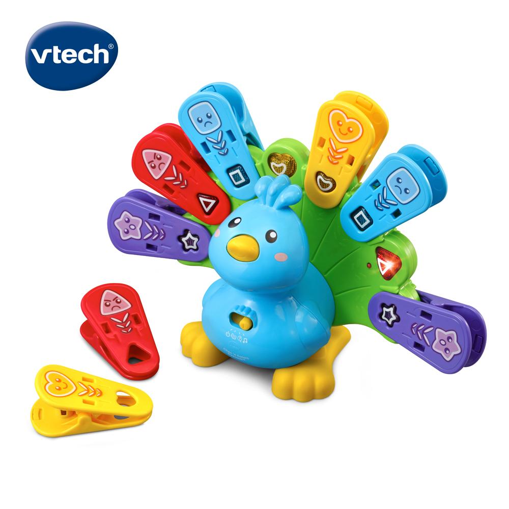【Vtech】EQ學習互動小孔雀