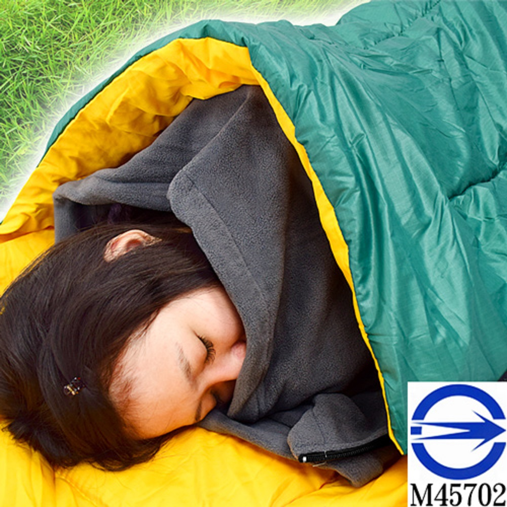 舒適搖粒絨保暖睡袋內套