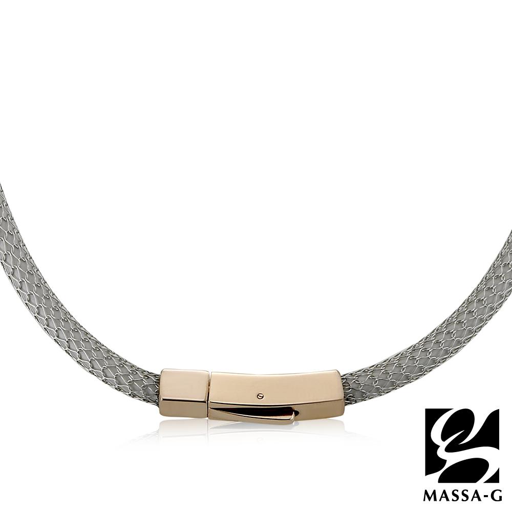 MASSA-G Titan XG2 5mm雪松銀超合金鍺鈦項圈