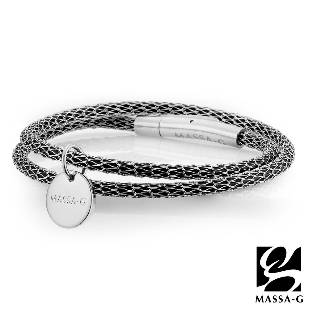 MASSA-G Titan XG2 Mini超合金鍺鈦手環 (雙圈吊牌款)