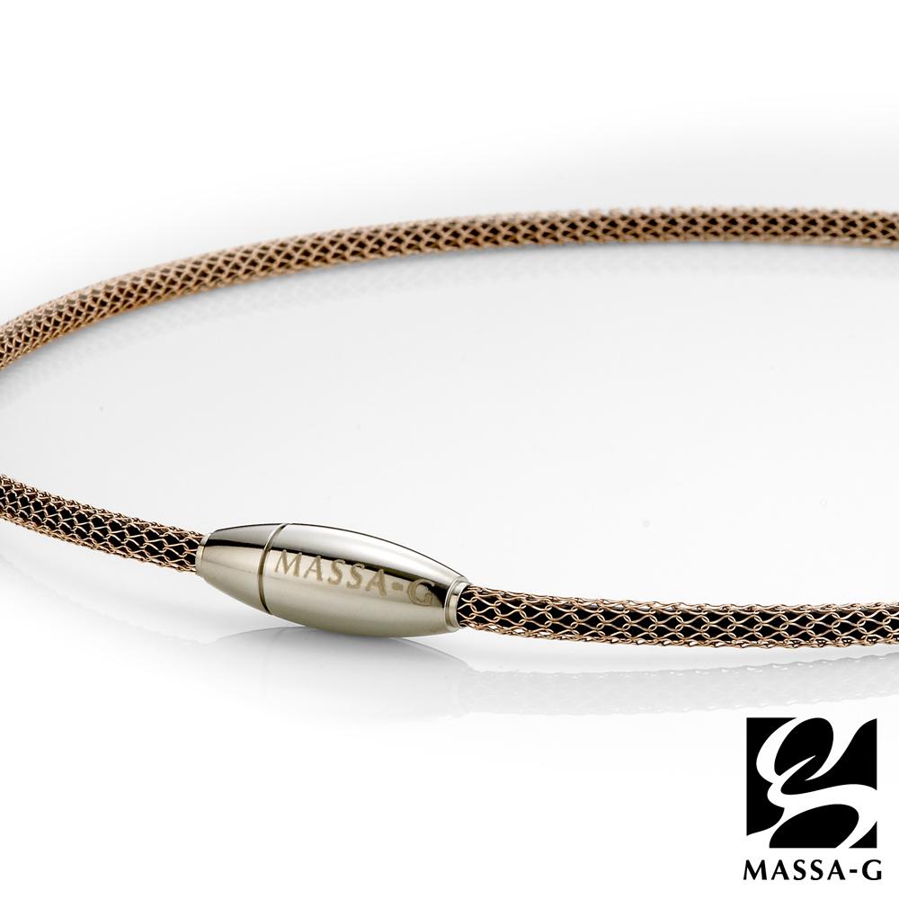 MASSA-G Titan XG Bullet 4mm超合金鍺鈦項鍊