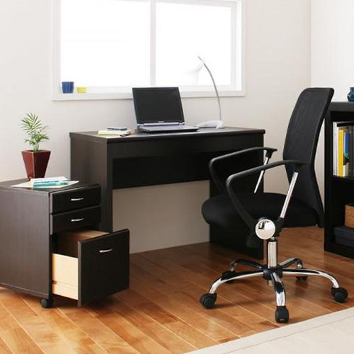 3月促銷價↘ JP Kagu 日系系統書桌/辦公桌+抽屜櫃-深棕色