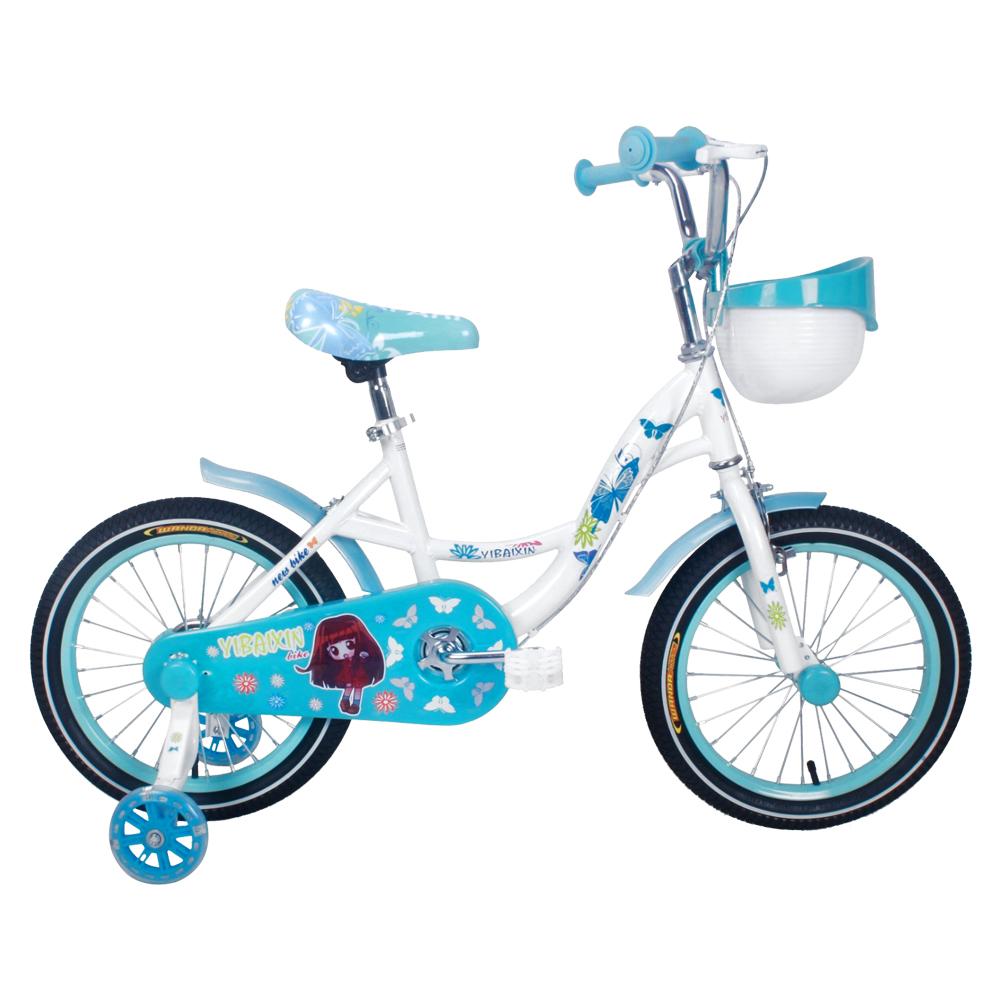 寶貝樂嚴選 16吋小蝴蝶腳踏車-藍