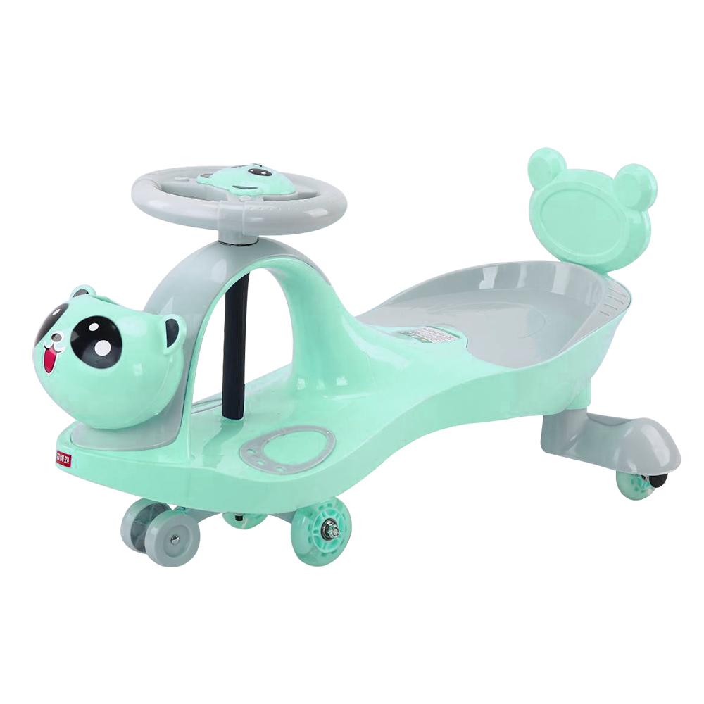 寶貝樂嚴選 熊貓扭扭車-綠
