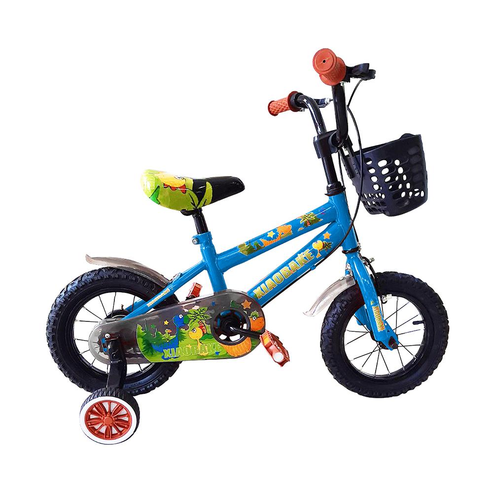 寶貝樂嚴選 12吋小恐龍兒童腳踏車-藍