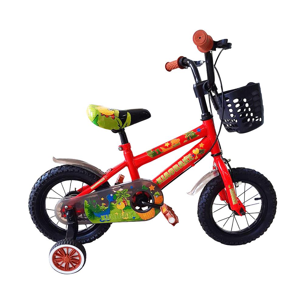 寶貝樂嚴選 12吋小恐龍兒童腳踏車-紅