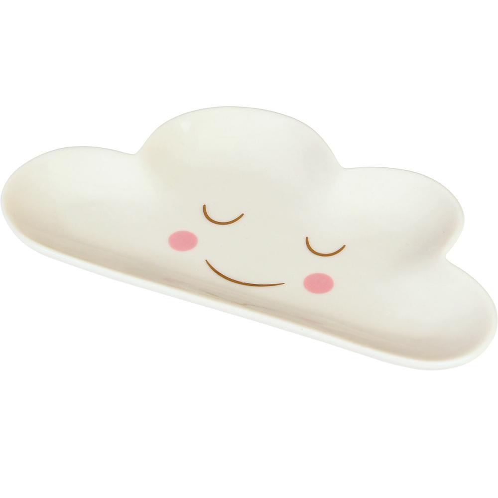 《Rex LONDON》白瓷飾品盤(雲朵)