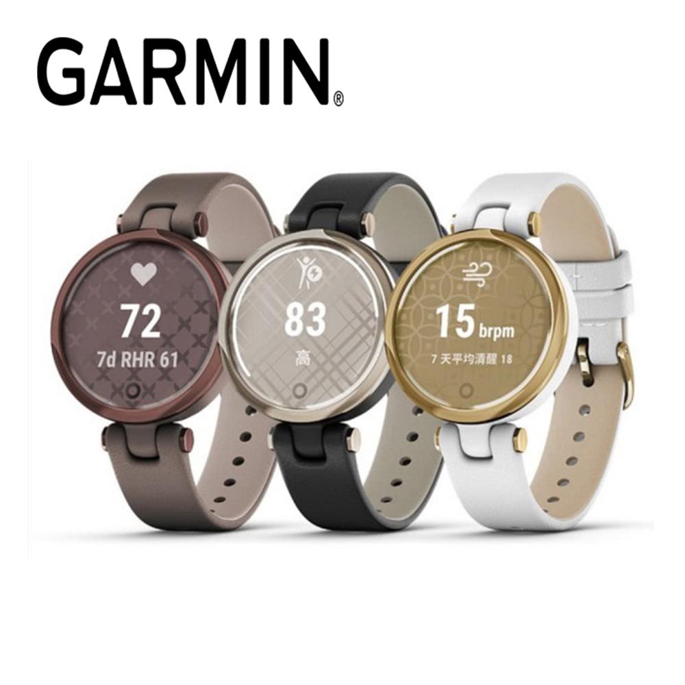 【福利網獨享】GARMIN Lily 智慧腕錶 經典款-皮革錶帶
