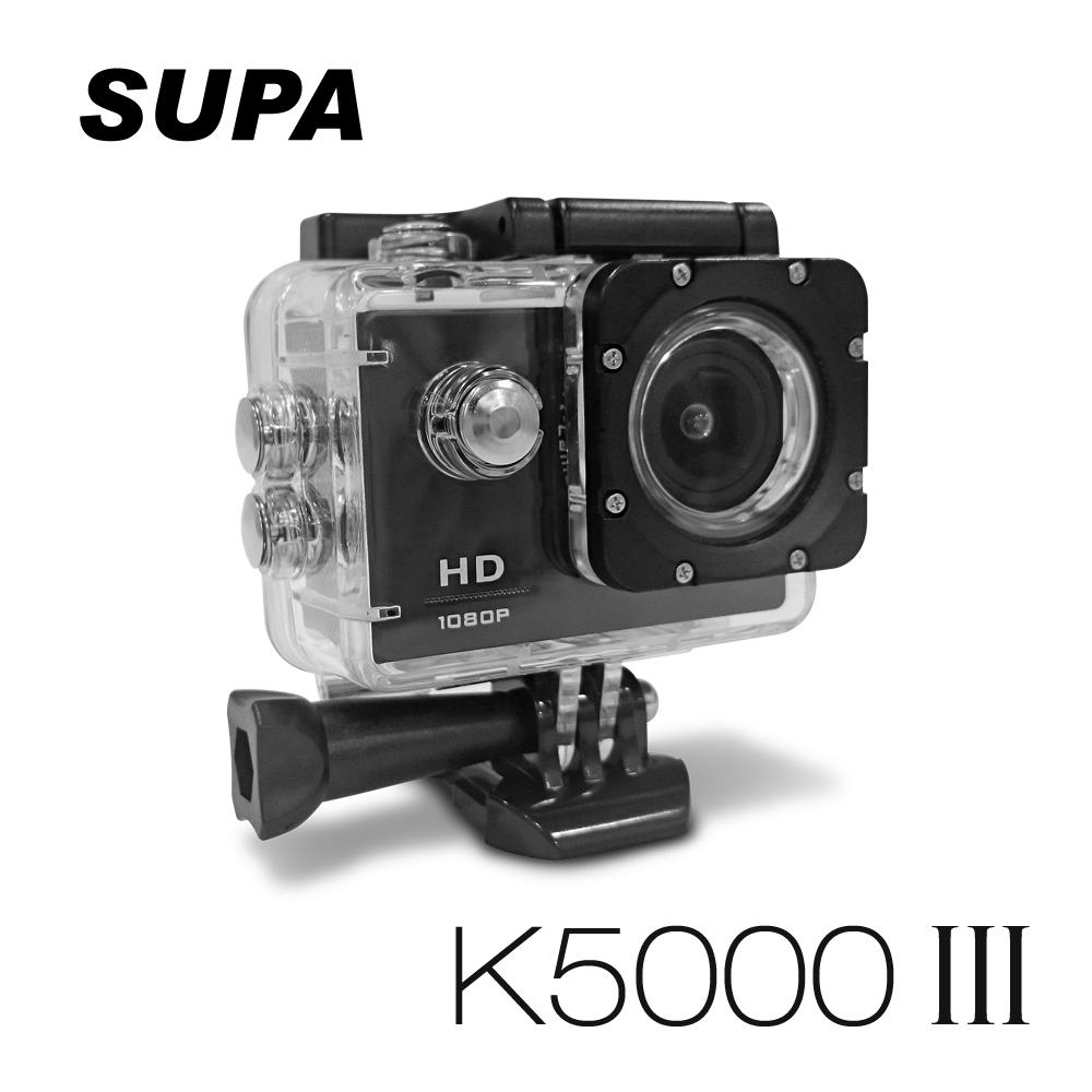 速霸 K5000 III 三代 Full HD 1080P 極限運動防水型 行車記錄器(送32G TF卡)