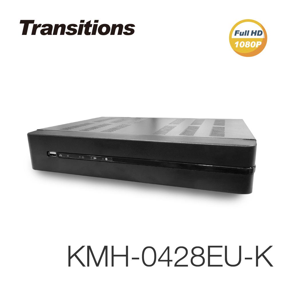 全視線 KMH-0428EU-K 4路 H.265 1080P HDMI 台灣製造 數位監視監控錄影主機