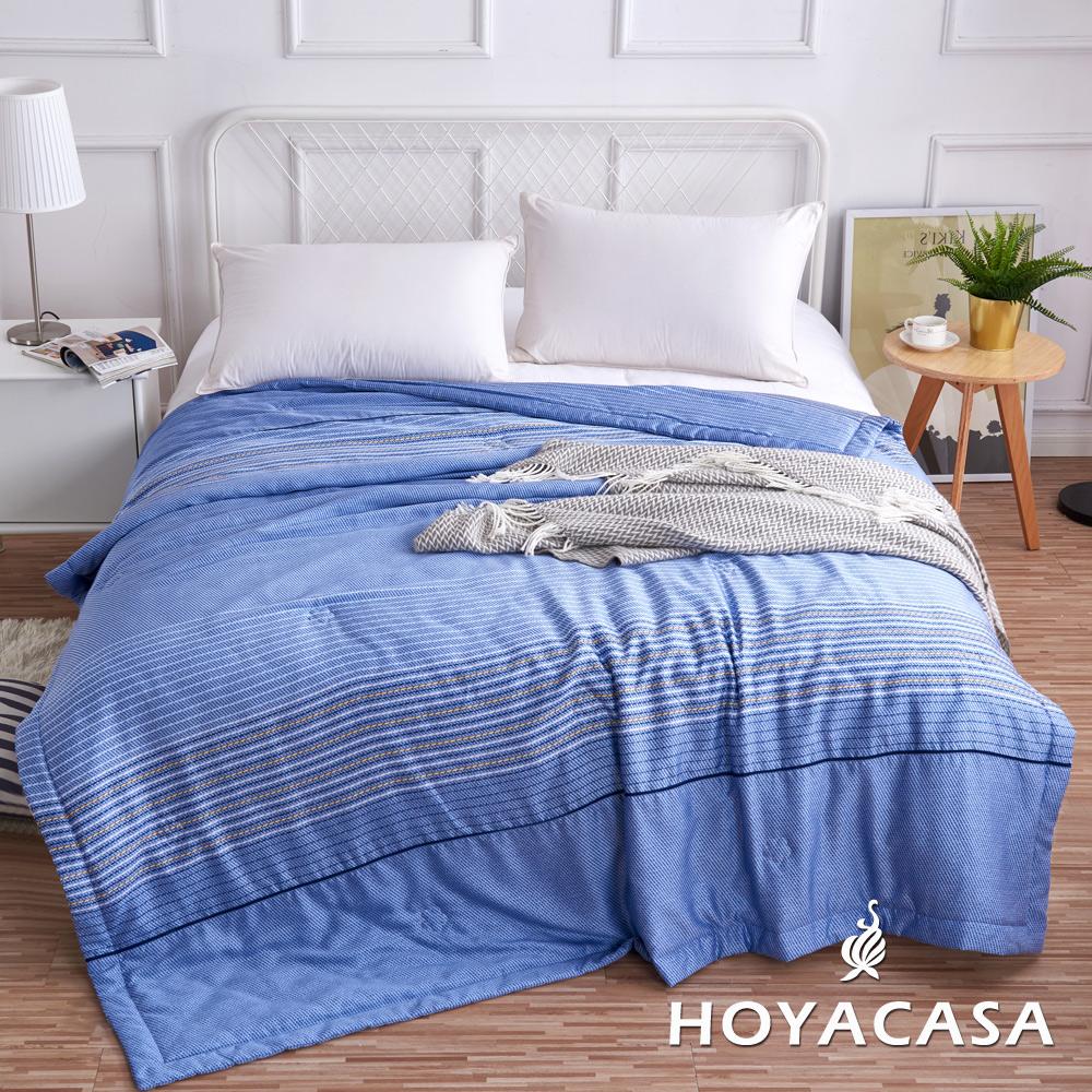 《HOYACASA威爾斯》涼爽輕柔100%天絲夏被(5x6尺)