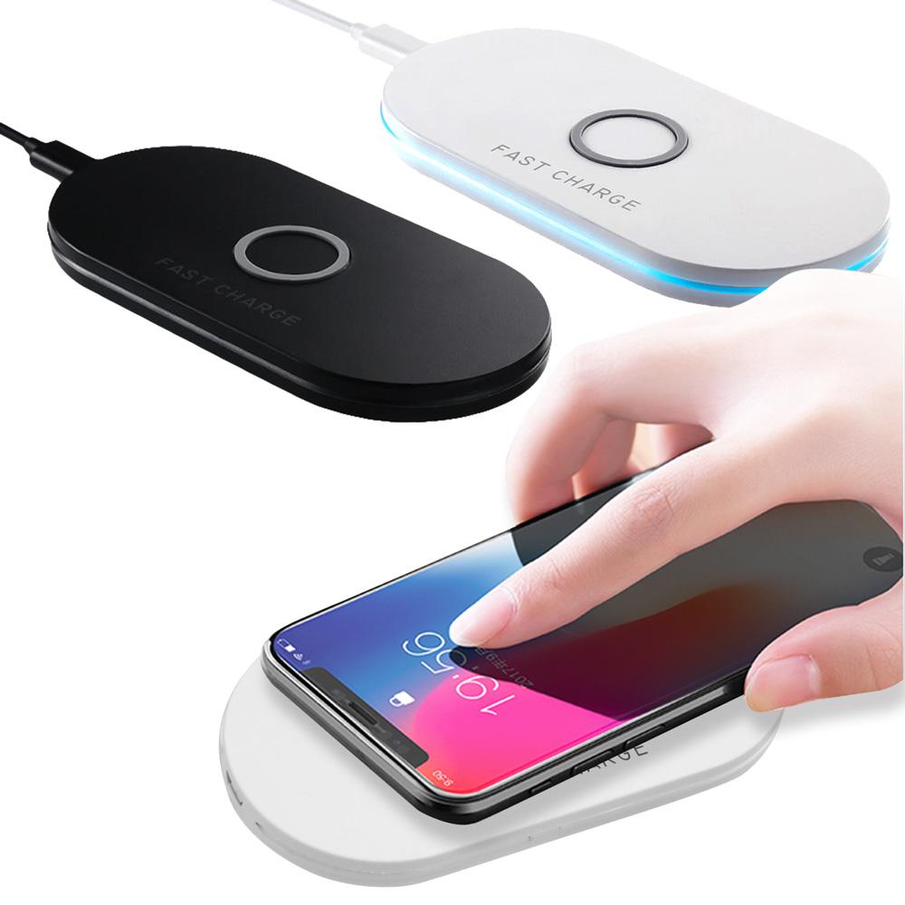 【IS愛思】Qi-P01 雙線圈10W快充無線充電板