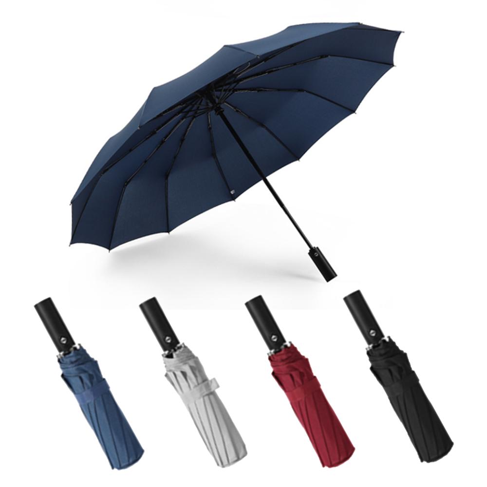 晴雨兩用12骨抗風型42吋自動摺疊傘