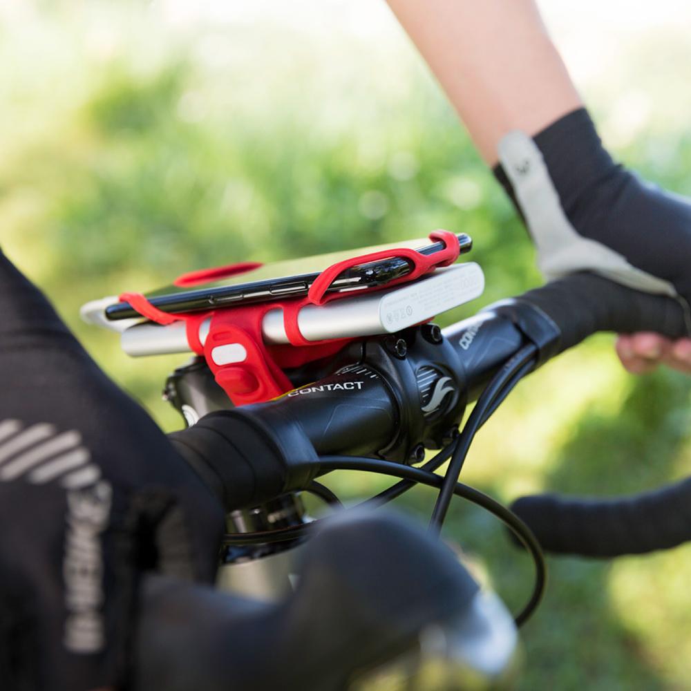 Bone 單車龍頭手機雙用綁 Bike Tie Pro-Pack-紅