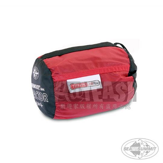 SEATOSUMMIT 單人保暖睡袋內套(+15度保暖)(紅色)