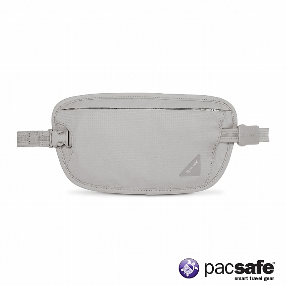 Pacsafe COVERSAFE X100 RFID 安全貼身腰掛暗袋 (灰色)