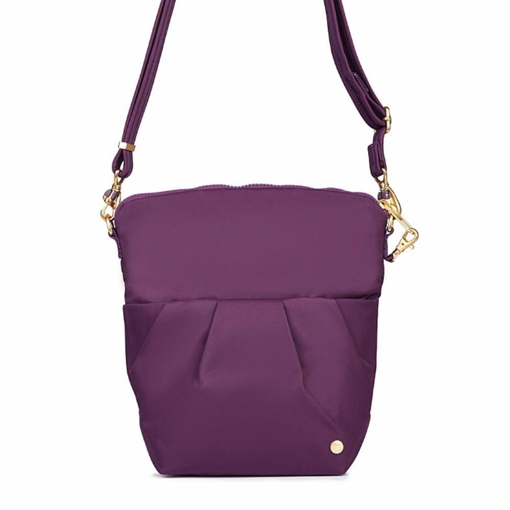 Pacsafe CITYSAFE CX CONVERTIBLE 可摺疊防盜側背包 (5L) Dahlia桃紫色