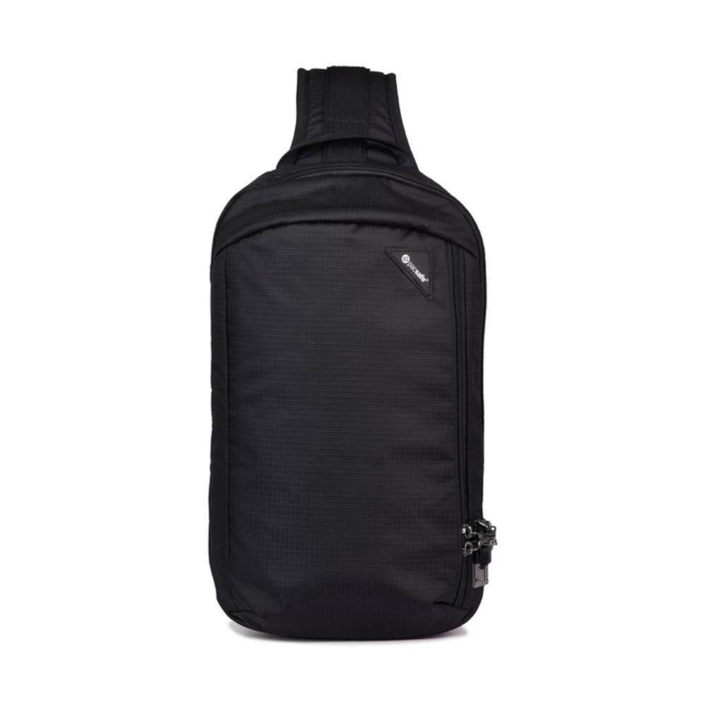 Pacsafe VIBE 325 多功能防盜斜背包(10L) Jet Black(黑色)