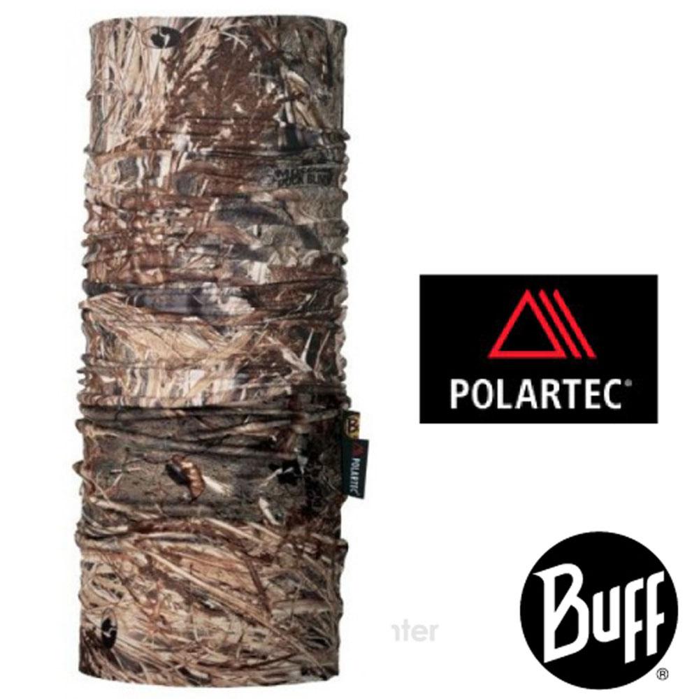【西班牙 BUFF】橡樹迷彩 雙面用 POLARTEC 超彈性保暖防風魔術頭巾.圍巾.口罩_100467 針葉樹林