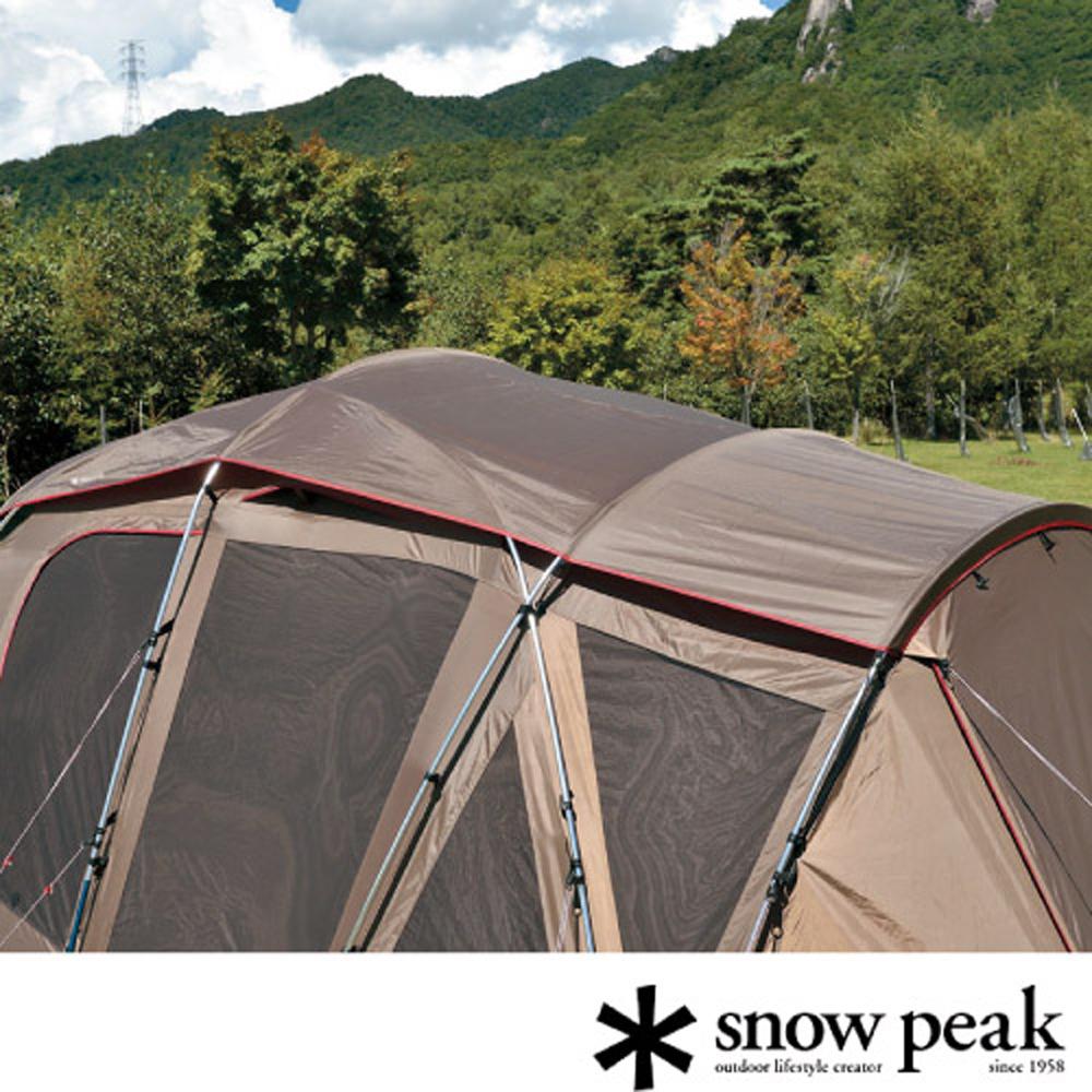 【日本 Snow Peak】Tortue Pro.-TT 圓弧別墅帳 pro-全罩式頂布/保護帳篷布不受日曬雨淋.抗UV/ TP-770SR-2
