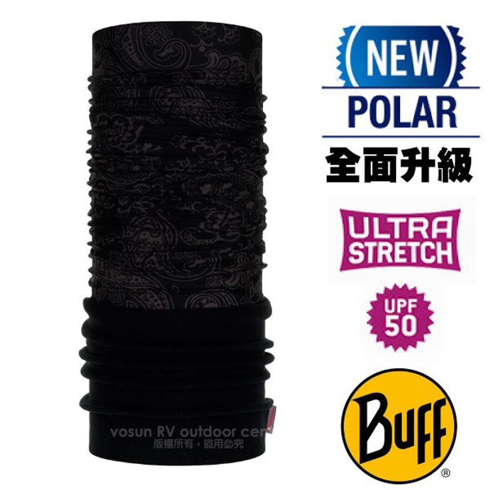 【西班牙 BUFF】超彈性 Polar保暖魔術頭巾 Plus(上層吸溼排汗+下層柔軟刷毛)/120891 游龍戲鳳