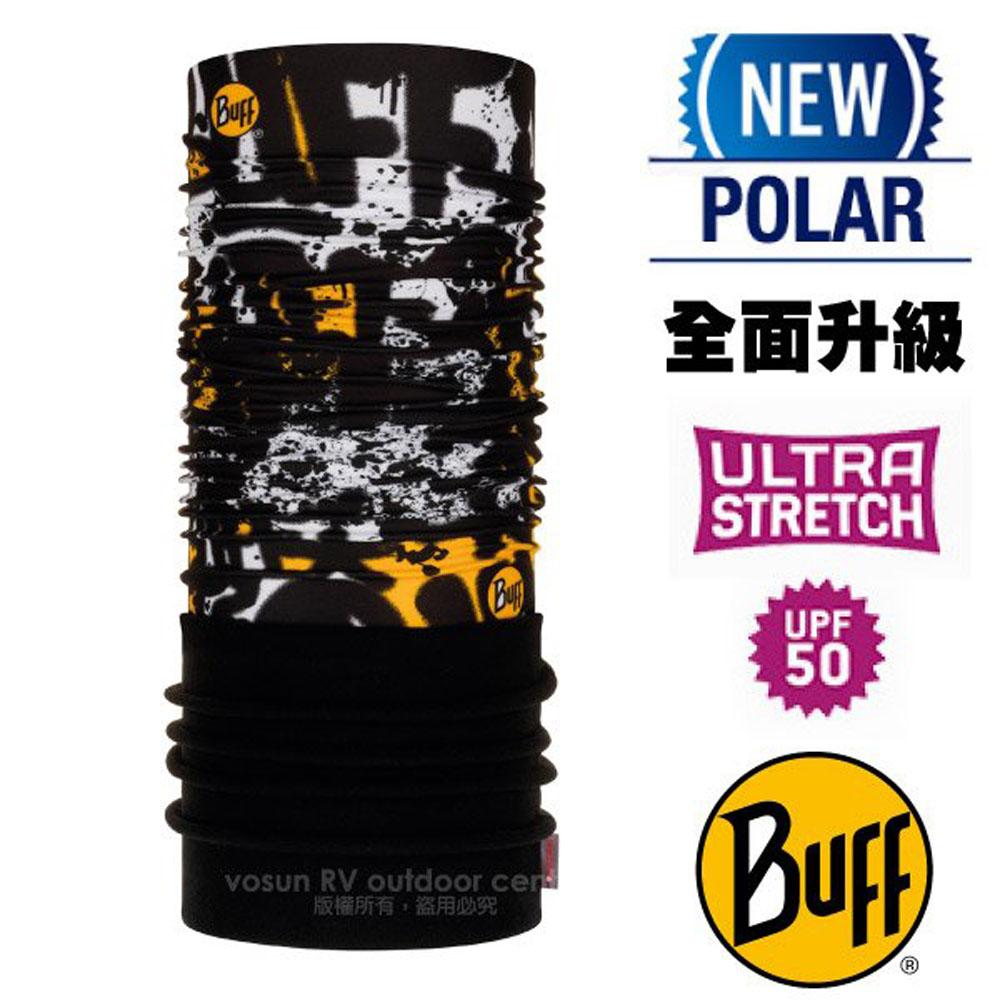 【西班牙 BUFF】超彈性 Polar保暖魔術頭巾 Plus(上層吸溼排汗+下層柔軟刷毛)/120911 噴漆塗鴉