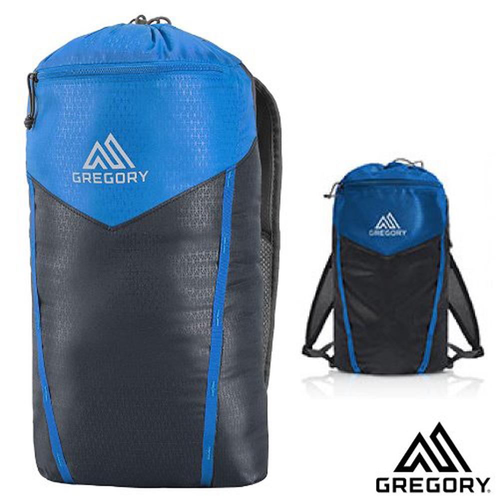 【美國 GREGORY】Sidekick 超輕量+防潑水 雙肩攻頂背包(減壓背帶)/抽繩束口設計_深藍