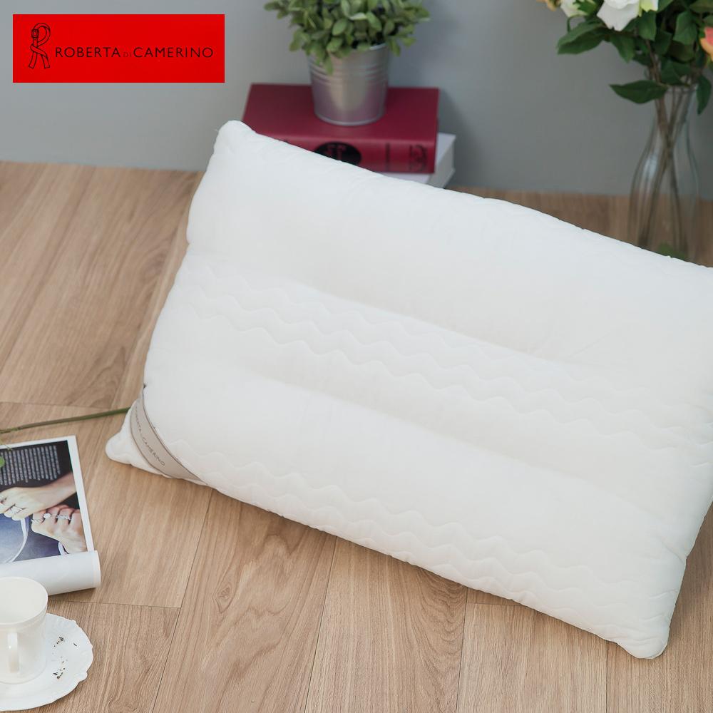 【ROBERTA DI CAMERINO諾貝達】義大利舖棉造型工學健康枕
