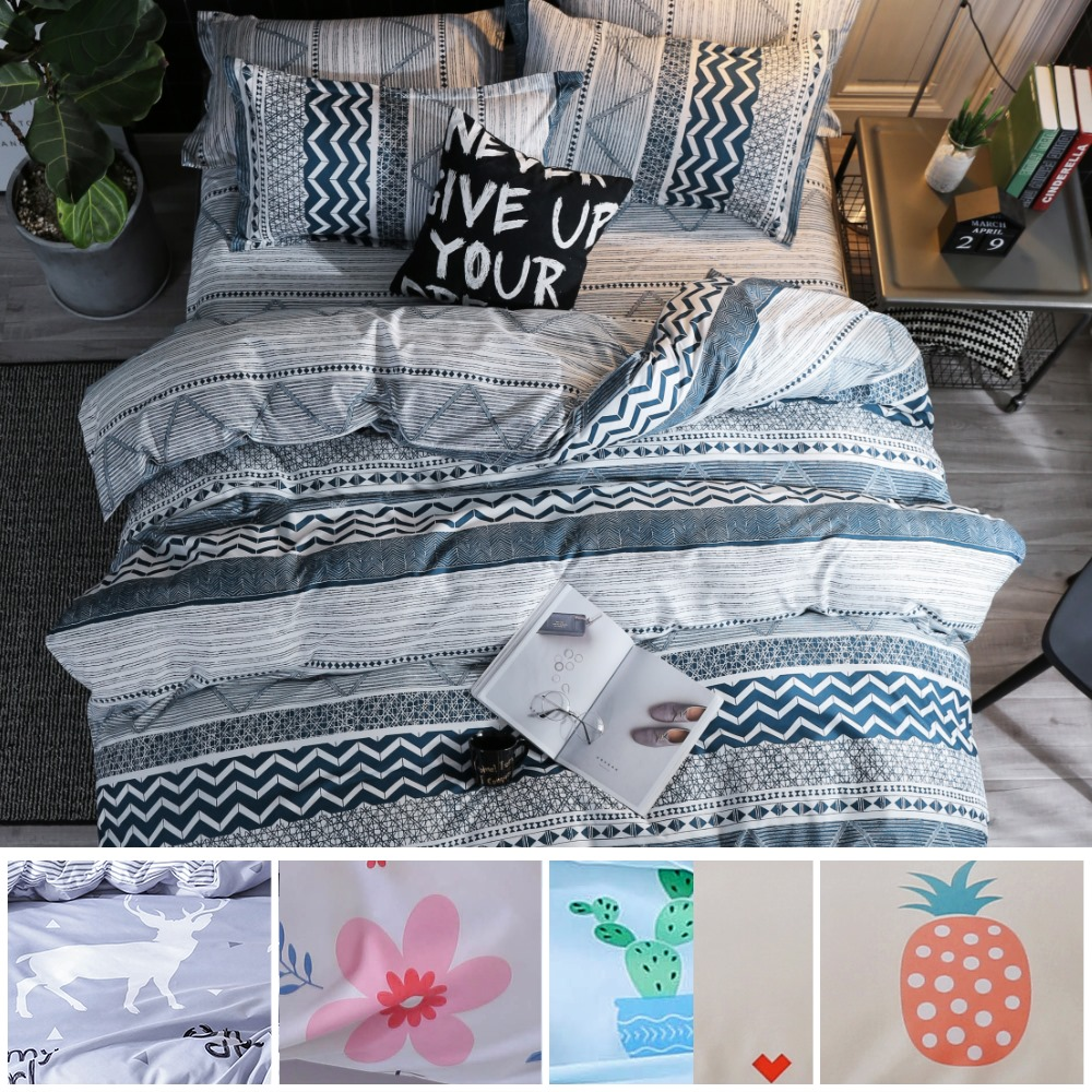 【eyah 宜雅】100%時尚天使絨單人床包枕套2件組-多款任選