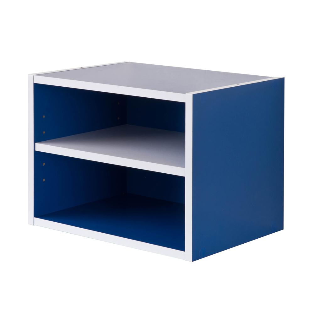 【TZUMii】 艾莉絲二格櫃-藍色