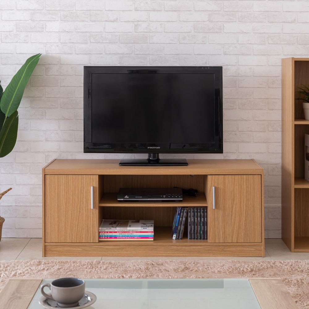 【TZUMii】職人加厚-雙門二格電視櫃