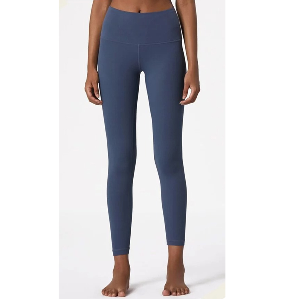 (買就送 發光跳繩)RAY FAIR 歐美顯瘦瑜珈褲(多色任選)_桑葚紫M