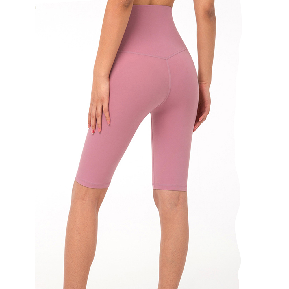 (買就送 發光跳繩)RAY FAIR 顯瘦高挑國民瑜珈五分褲(多色可選)