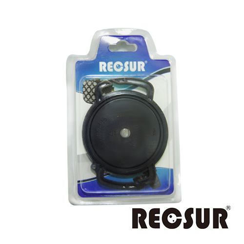 RECSUR 鏡頭蓋防丟扣 FOR 52/58/67 mm(可安裝於背帶上面)