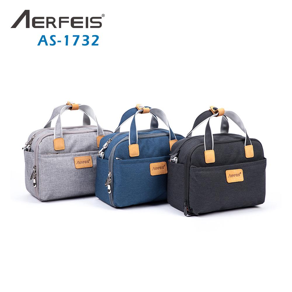 AERFEIS阿爾飛斯 AS-1732帆布手提側背相機包
