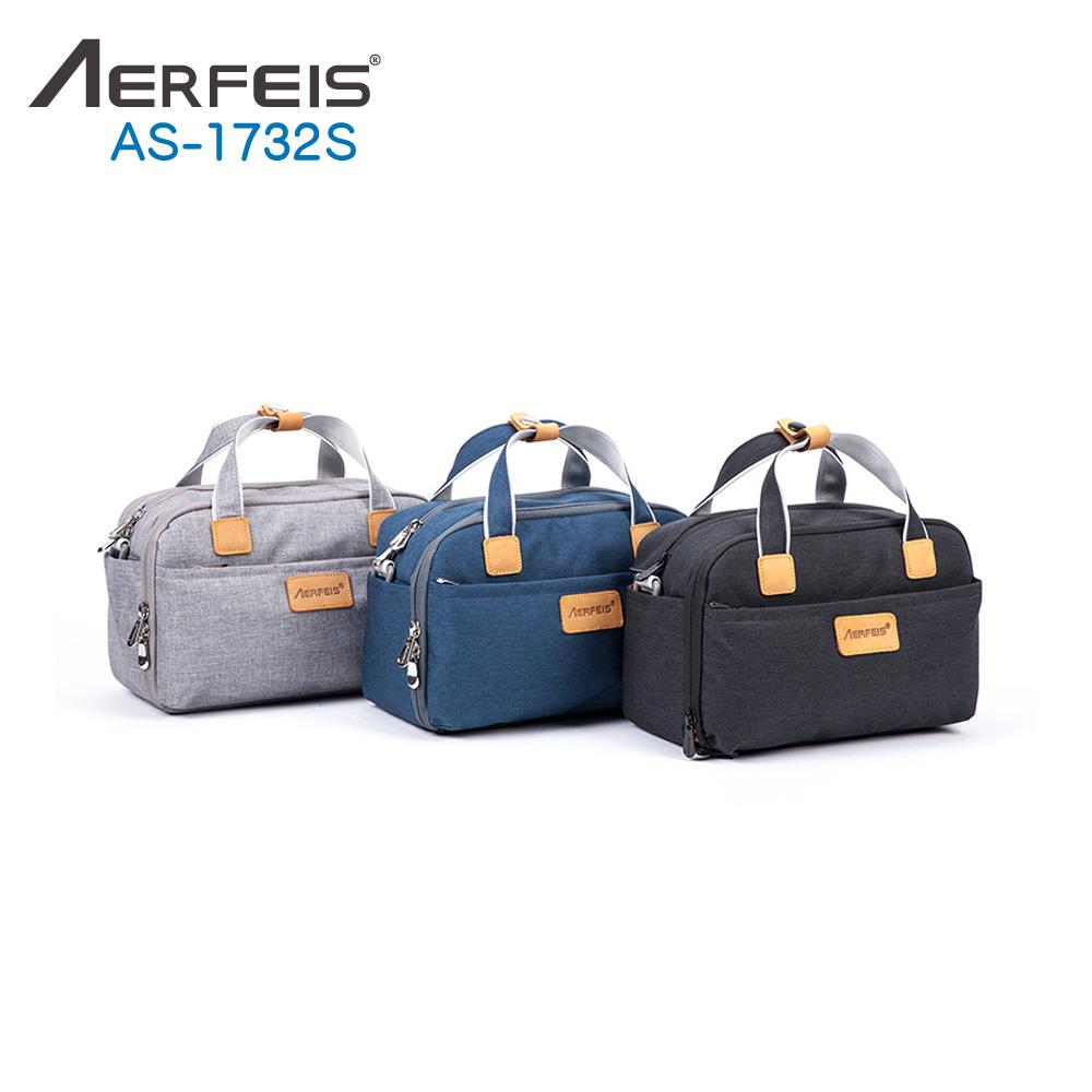 AERFEIS阿爾飛斯 AS-1732S帆布手提側背相機包-小