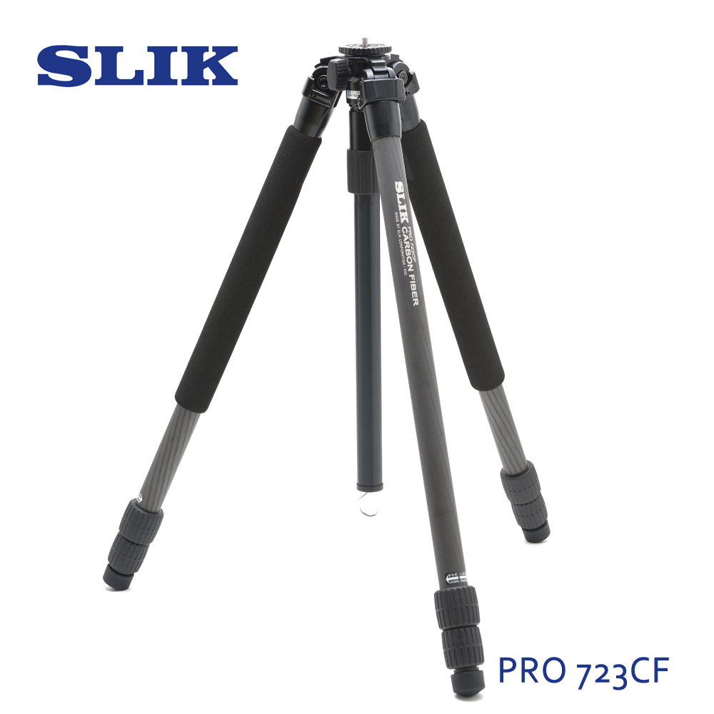 日本 SLIK Pro 723 CF 碳纖三腳架