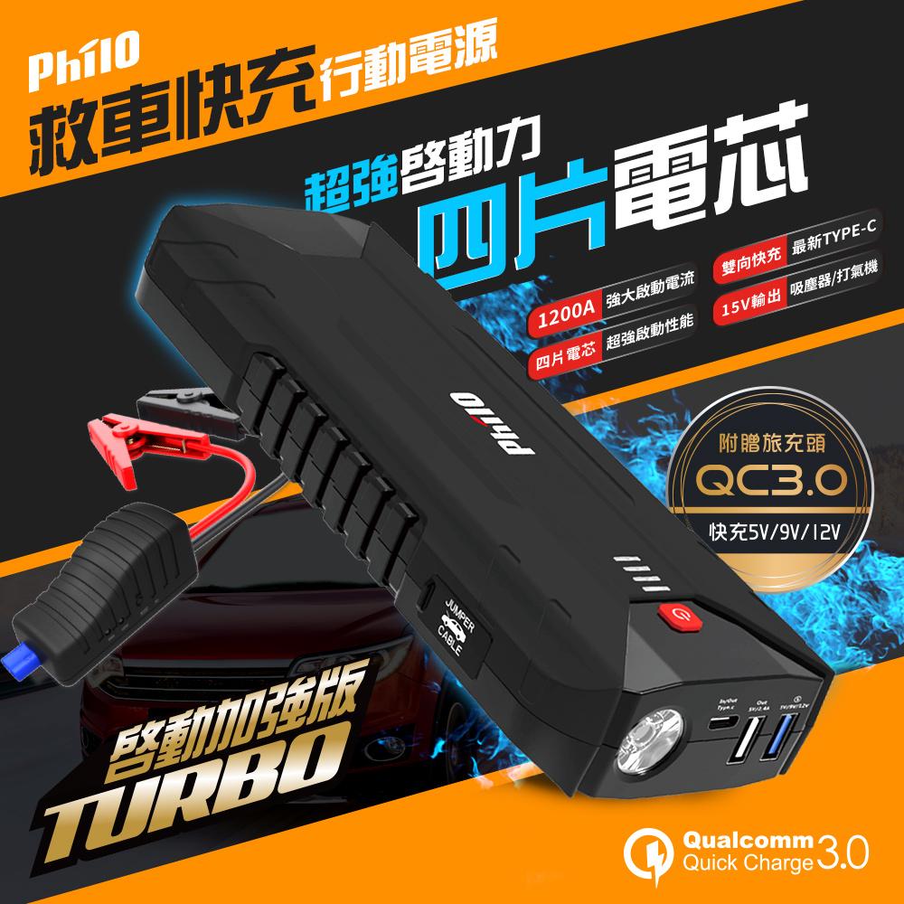 飛樂 PQC-16000SP 汽/柴油救車快充行動電源限量 (搭贈QC3.0快充器)