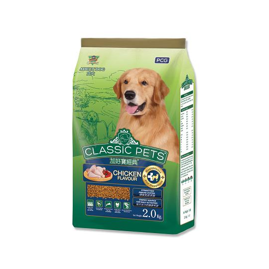【CP】加好寶經典乾狗糧-雞肉口味-2kg x 6包/箱