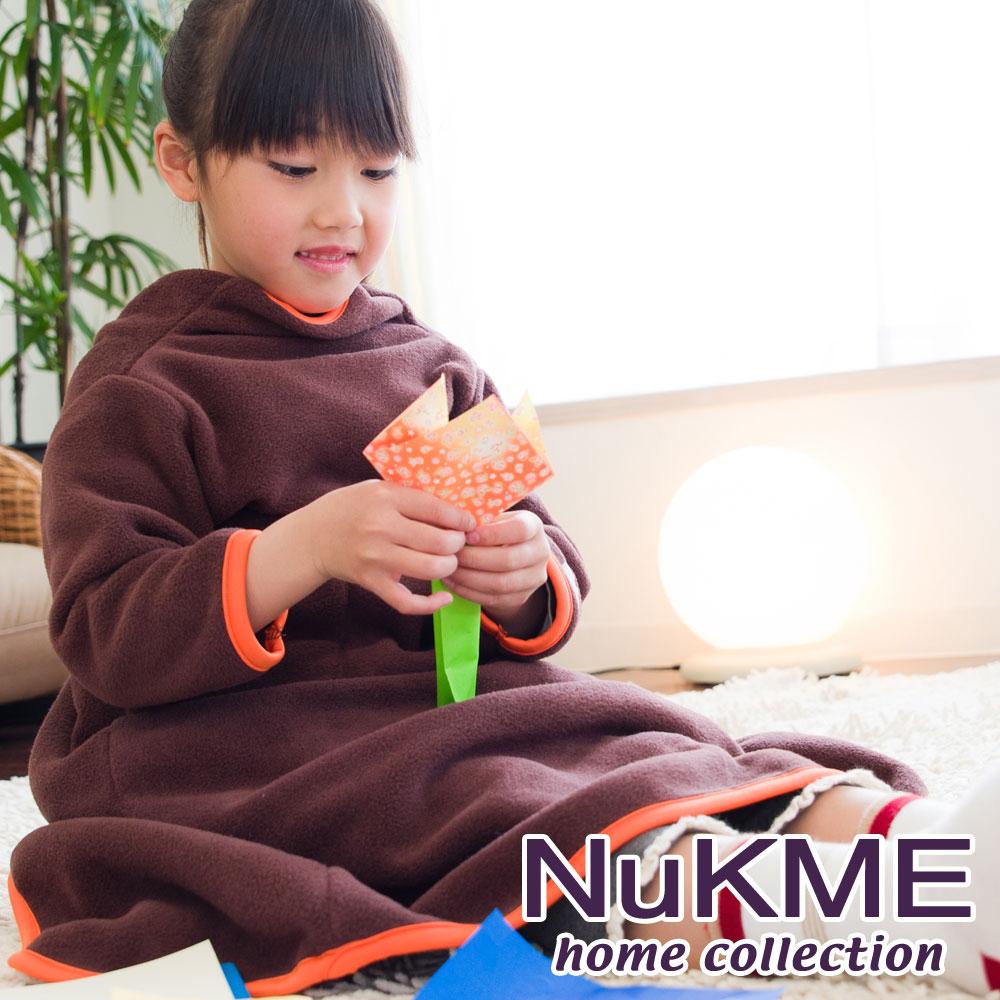 棉花田【NuKME】兒童時尚多功能創意袖毯-24色可選
