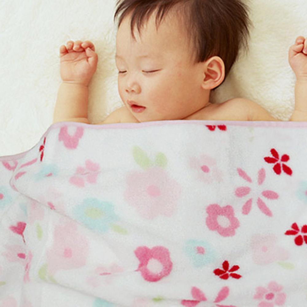 棉花田【Baby兔】兒童刺繡印花舒柔隨意毯