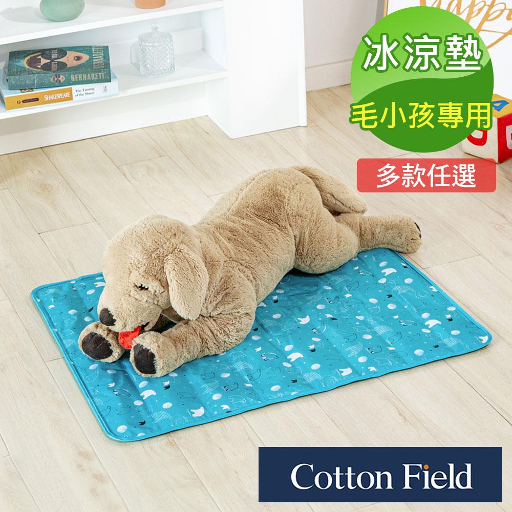 棉花田極致酷涼多功能寵物涼墊-多款可選(61x76cm)
