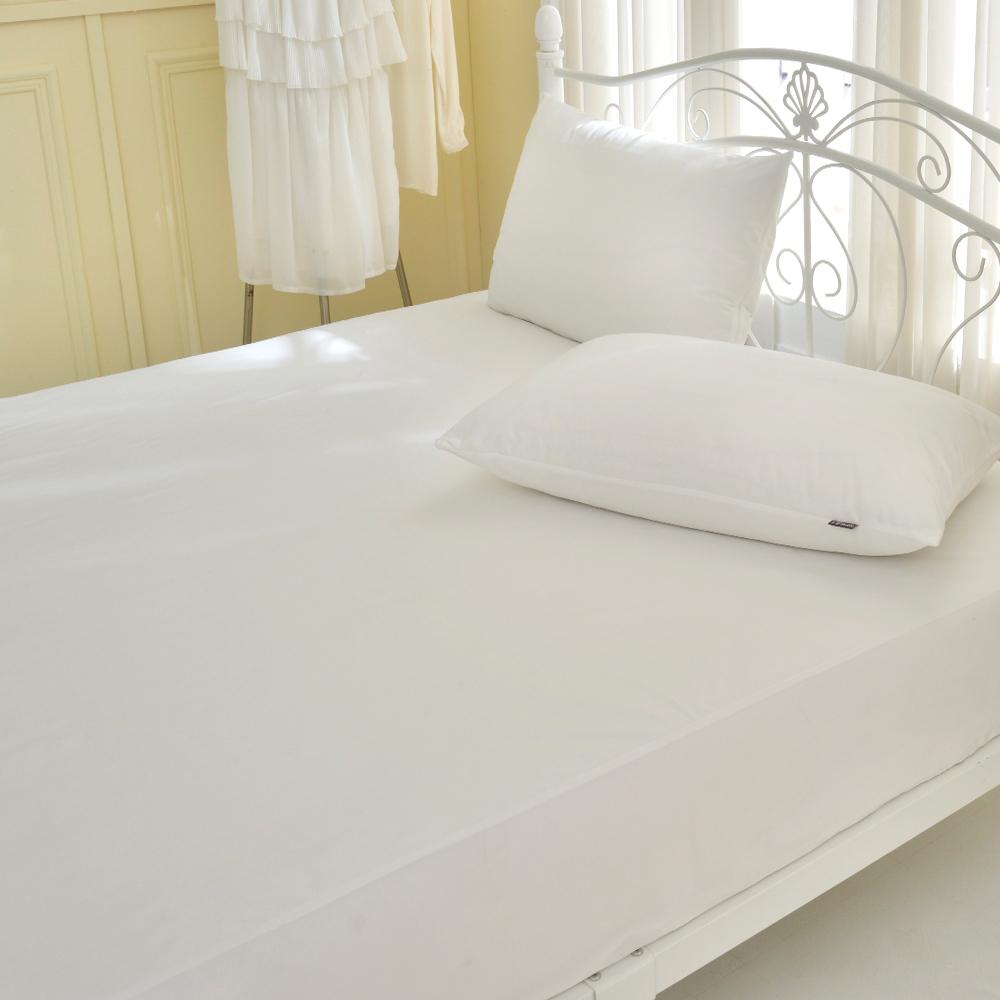 義大利La Belle《經典品味》單人吸濕排汗抑菌防水包覆式保潔墊