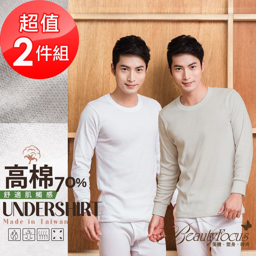 BeautyFocus (2件組)高棉感舒適保暖衣(9981)