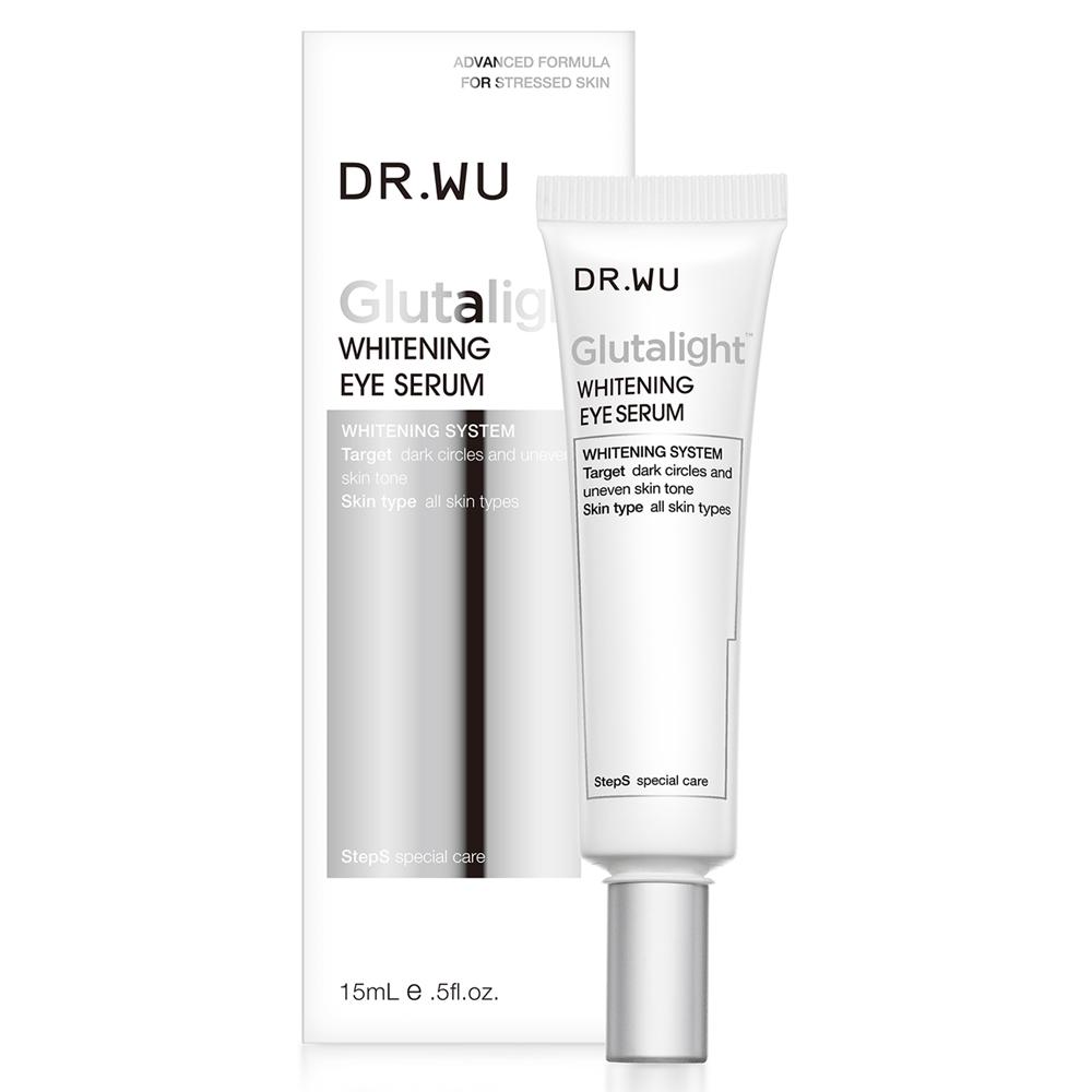 DR.WU 潤透光美白眼部精華液15ML(送淡斑精華)